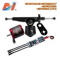 Maytech (4 stücke) 5065 170KV rc outrunner bürstenlosen motor für elektrische skateboard mit kein halle sensor combo