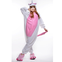 Pink Unicorn Unisex Adult OnePiece Pajamas Cosplay Onesies Cartoon Animal Onesies  Sleepwear Pyjamas Christmas Halloween Costume sponge onesies pajamas cartoon costume cosplay pyjamas adult animal onesies party dress halloween pijamas