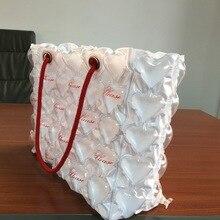 Заводская Рекомендуемая популярная Надувная сумка для покупок в новом стиле, ПВХ надувная модная рекламный подарок, сумка оптом