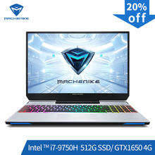Machenike F117-VB1 Gaming Laptop (Intel Core I7-9750H + GTX 1650/8GB RAM/512G SSD/ 15.6 ''72% NTSC) machenike-Brande Notebook(China)