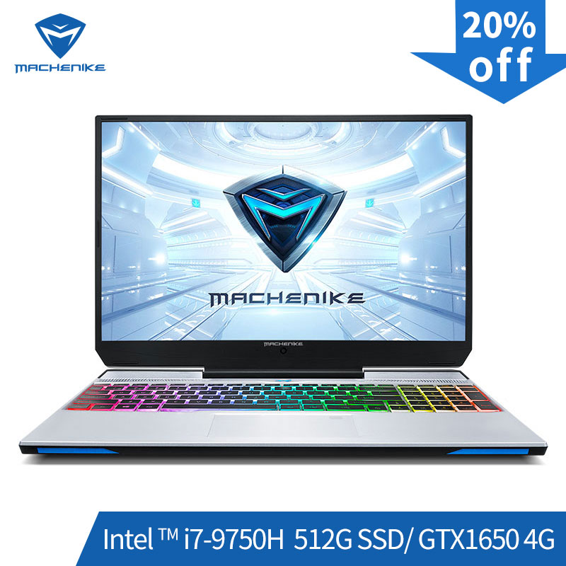 Machenike F117-VB1 Gaming Laptop (Intel Core i7-9750H + GTX 1650/8GB di RAM/512G SSD/ 15.6 ''72% NTSC) игровой ноутбук notebook ноутбук