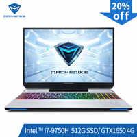 Ordinateur portable de jeu Machenike F117-VB1 (Intel Core i7-9750H + GTX 1650/8GB RAM/512G SSD/15.6 ''72% NTSC)