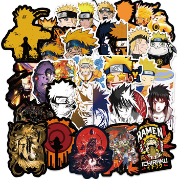 10/30/50PCS Naruto Anime Stickers for Child Skateboard Fridge Phone Guitar Motorcycle Luggage PVC Waterproof Cool Decal - discount item  30% OFF Classic Toys