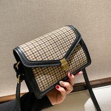 Nouvelle mode sacs à bandoulière pour femmes en cuir souple rétro Sac à Main Style Simple petit Sac carré femme Sac à bandoulière Sac A Main Fem