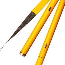 THREE FISH 40cm Fishing Rod Stream Hand toughness Carbon Fiber Telescopic Fishing rod Ultra short light carp fishing pole
