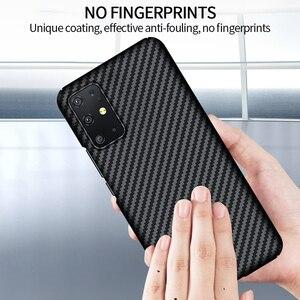 Image 5 - GRMA lüks gerçek saf karbon Fiber kapak için SAMSUNG Note20 S20 Ultra S10 artı S10e kılıf Samsung Galaxy Z flip SM F7000 kılıfı