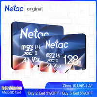 Netac P500 A1 Memory Card 64GB 32GB 16GB 100MB/S Microsd TF/SD Card Class10 UHS-1 Flash Card Memory 32 GB Micro SD Card Hot sale