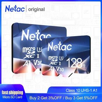 Netac P500 A1 tarjeta de memoria de 64GB 32 GB 16GB 100 MB/S Microsd TF/tarjeta SD Class10 UHS-1 Flash tarjeta de memoria tarjeta Micro SD de 32 GB gran oferta