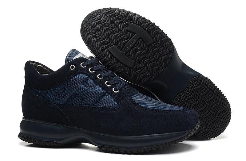 Hogan Fashion Men Sneakers 2020 Air Mesh Breathable Outdoor Man Sneaker New  Vulcanized Shoes