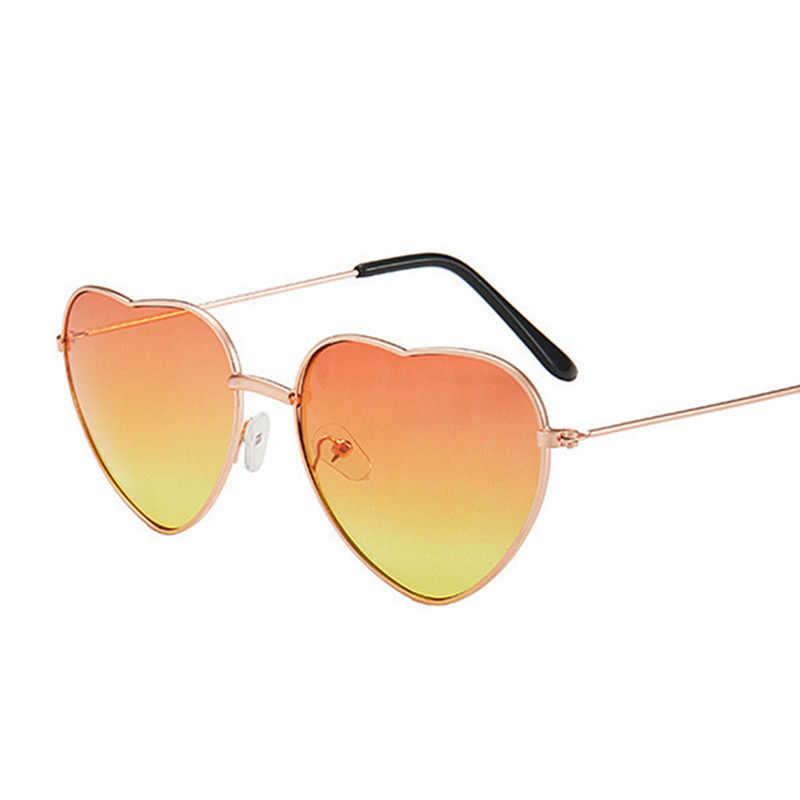 Randloze Liefde Bril Dames Heart Shaped Candy Zonnebril Metalen Vrouwen 2020 Merk Designer Fashion Ray Mannen Spiegel Oculos De Sol