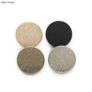 5pcs Round Matte texture Metal Shank Buttons Sewing Scrapbooking Clothing Replace Handword Crafts Accessories Decor 15-25mm(China)