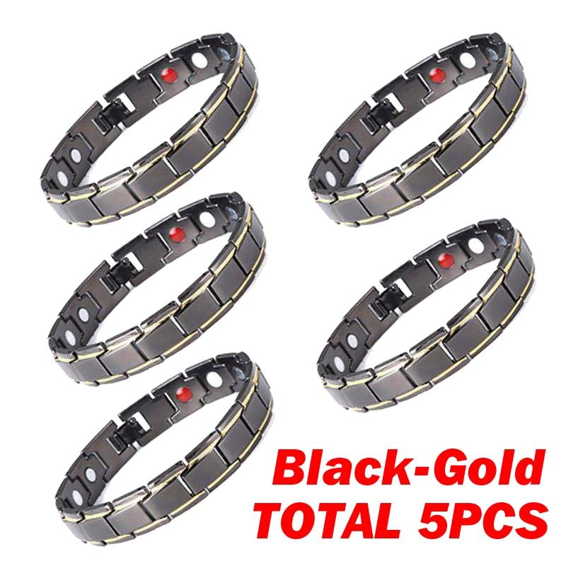 1 Row 5pcs B-Gold