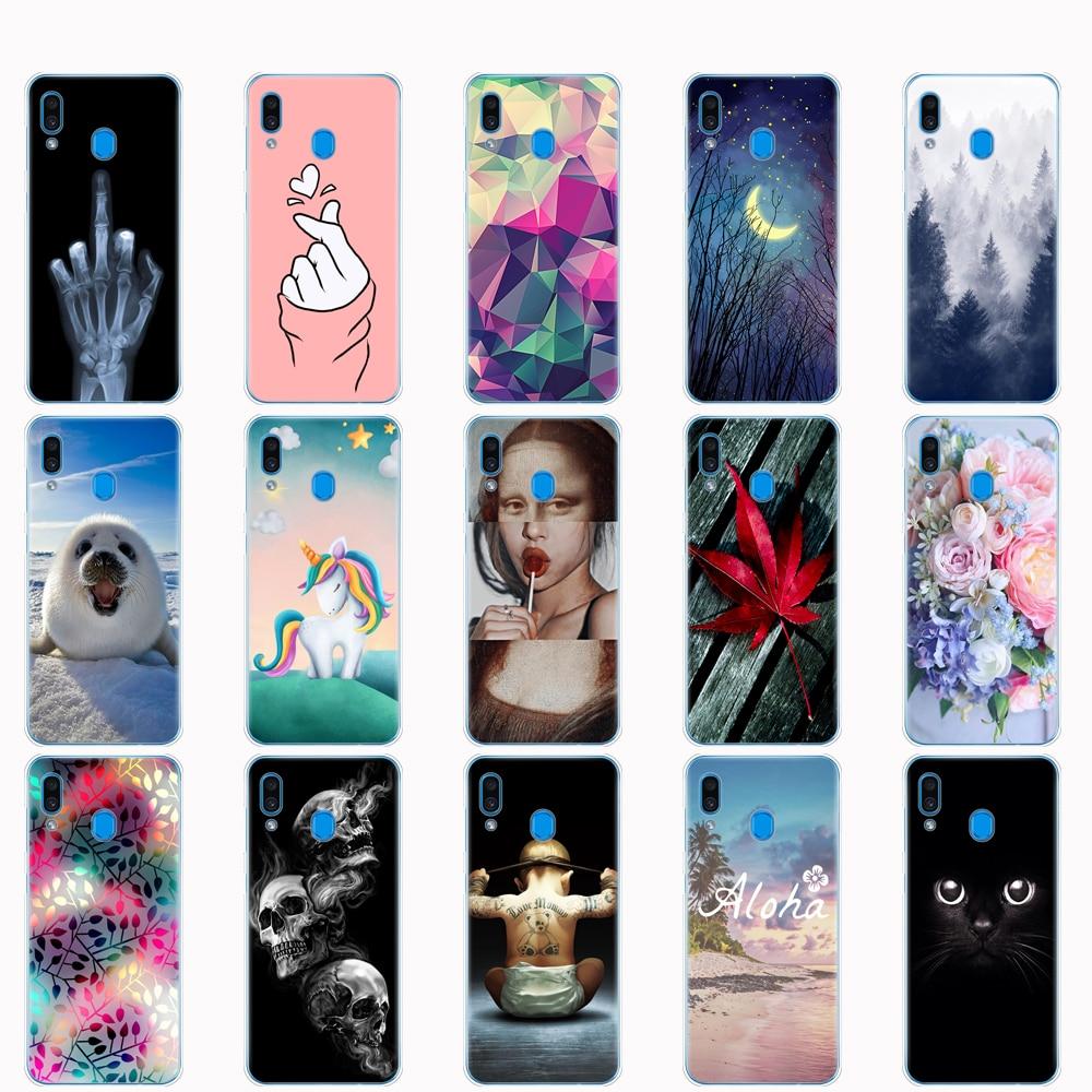 For Samsung Galaxy A20 Case A20E Silicone Back Phone Cover For Samsung A20 2019 A205F A20E A202F Soft TPU Fundas Coque Bumper