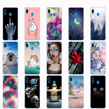 Voor Samsung Galaxy A20 Case A20E Silicone Back Phone Cover Voor Samsung A20 2019 A205F A20E A202F Soft Tpu Fundas coque Bumper