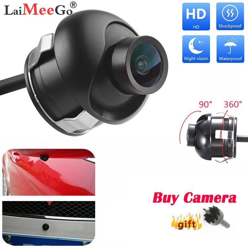 Waterproof 360 Degree Rotatable HD Waterproof Car Reverse Parking Reversing Camera Rear View Cam Backup Night Vision