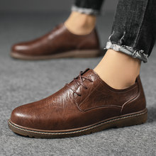 High Quality Leather Casual Shoes Men Spring Autumn Fashion Oxford Shoes Male Adult Business Comfort Non-slip Formal Mens Oxford