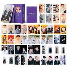 54pcs/set Kpop TXT Small Card Lomo Photo Card Collective Photocard