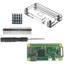 for Raspberry Pi Zero W Kit 5MP HeatSinks Screwdriver Zero Case Cable 15cm