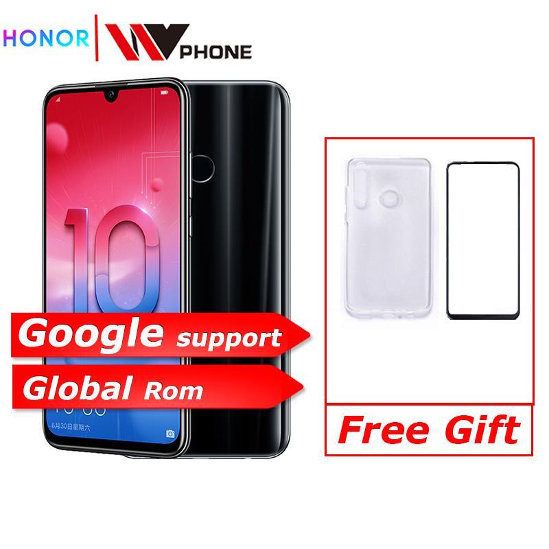 Honor honor 10 10 Lite Smart phone 6.21 polegada 2340*1080 Octa Núcleo Mobile Phone 3 Câmeras Digitais