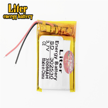 Liter energy battery Size 302530 3.7V 300mah Lithium polymer Battery with Protection Board For MP4 Digital Products