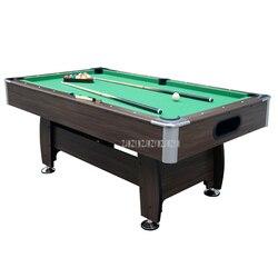 Amerikanischen Stil 7 füße Holz Billardtisch Mit 16 stücke Bälle 2 Queue Moderne Starke Rahmen bein Sport Ausrüstung Snooker SUB-8446R-1LZ