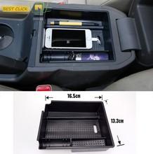 Ajuste para Hyundai Ix35 2011-2014 2015 apoyabrazos reposabrazos caja de almacenamiento bandeja Centro consola paleta organizador contenedor funda, soporte