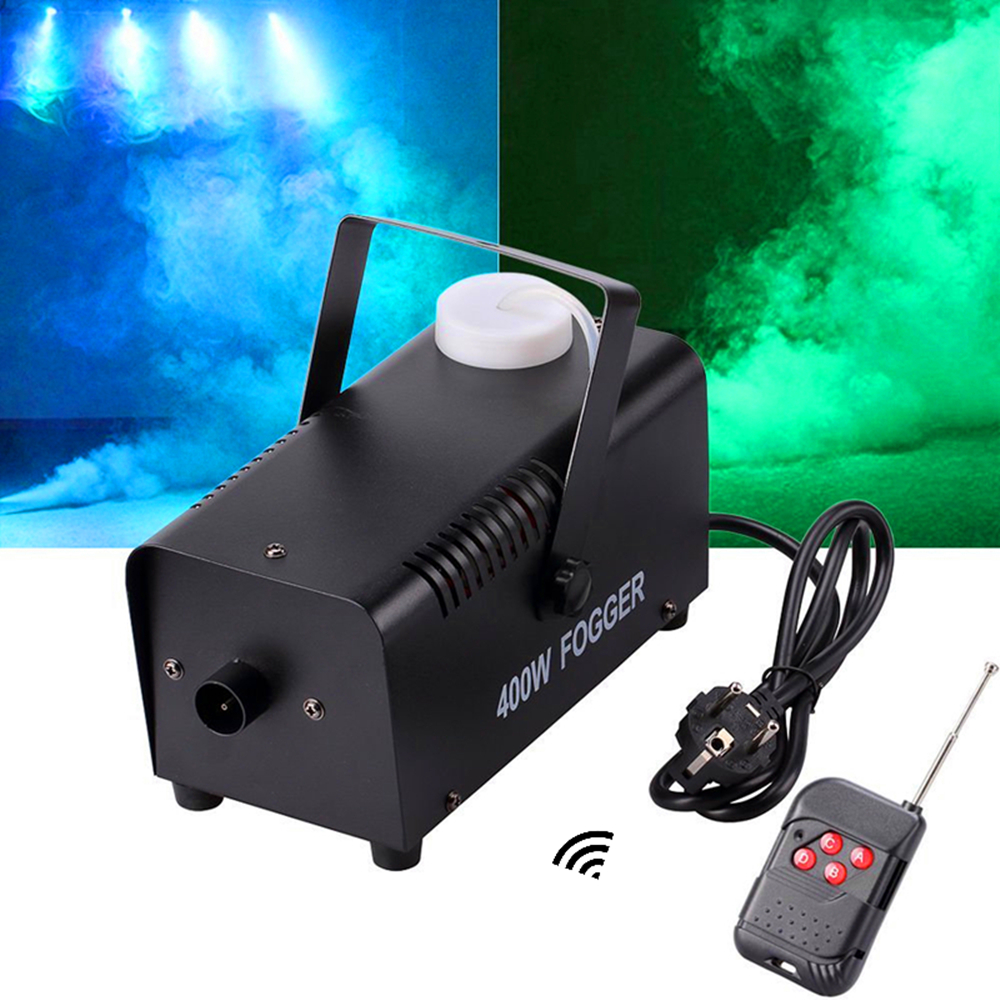 Smoke Ejector/Wireless Remote Control 400W Fog Machine/Stage 400W Fogger /400-Watt Smoke Machine For Disco,KTV, Party, Weddings
