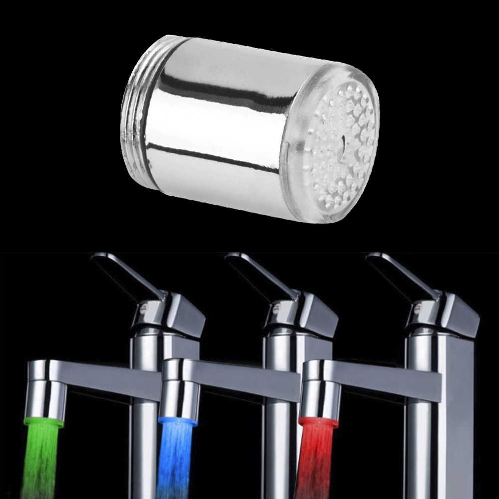 ฝักบัวก๊อกน้ำ LED โคมไฟสีสตรีมห้องน้ำอุปกรณ์เสริม Beam 2017 กระแสเงินสดลูกปัด Tap