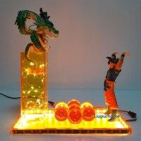 Dragon Ball Z Lampara przywołać Shenron Led lampka nocna oświetlenie biurka Dragon Ball Super Shenlong Lampe DBZ w Oświetlenie nocne LED od Lampy i oświetlenie na