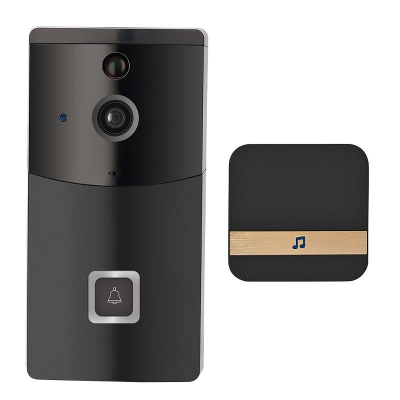 B10 Smart Wireless WiFi Intercom Video Visual Doorbell Two Way Audio PIR Motion Sensor Infrared Home Security Doorphone