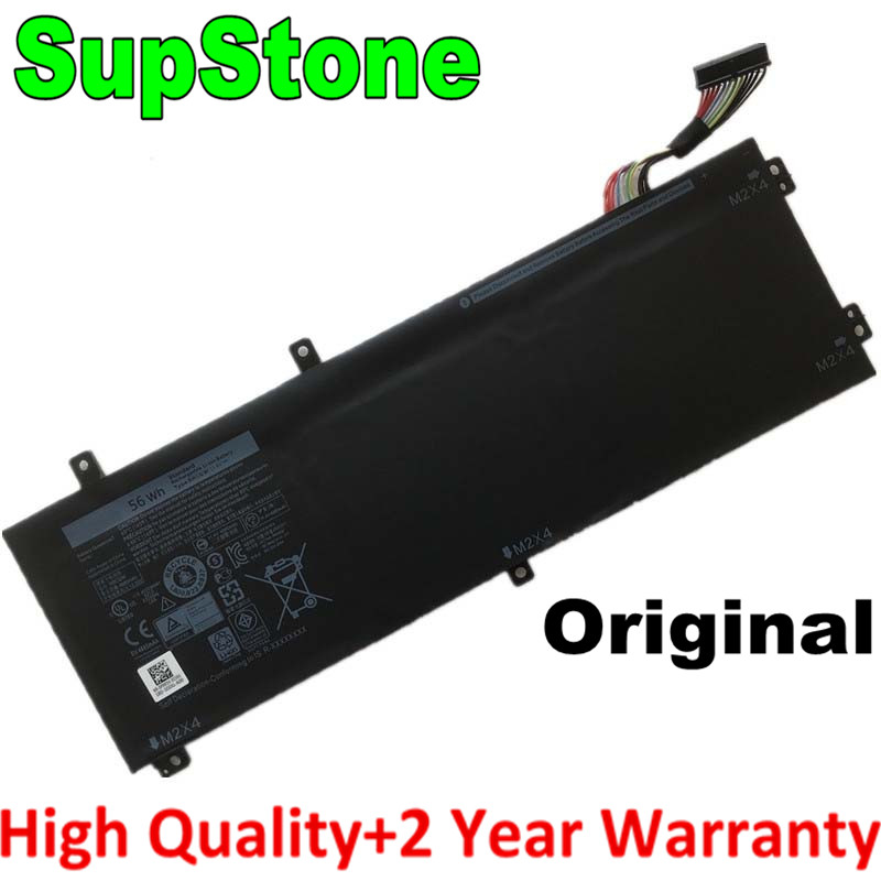 SupStone Genuine Original 56Wh RRCGW 1P6KD laptop battery For <font><b>Dell</b></font> <font><b>XPS</b></font> 15 <font><b>9550</b></font> Precision 5510 M7R96 62MJV 11.4V battery image