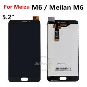 "Image 2 - Pantalla LCD para Meizu M6, M711H, M711M, M711Q, montaje de Digitalizador de Panel táctil para Meizu M6, LCD probado de 5,2"""