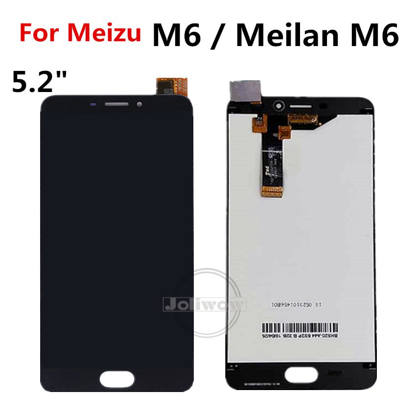 """Image 2 - Tested Good 5.2"""" For Meizu M6 M711H M711M M711Q LCD Display Screen Touch Panel Digitizer Assembly for Meizu M6 LCDMobile Phone LCD Screens   -"""