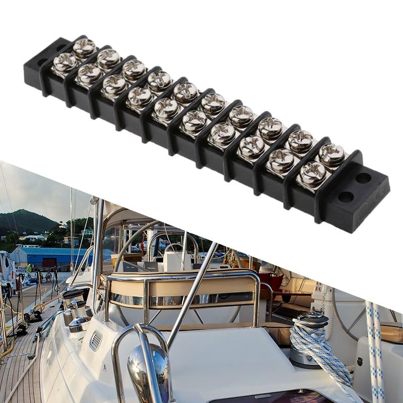 8 Circuit MagiDeal Marine Boat 30 Amp 12V DC Terminal Block Bus Bar