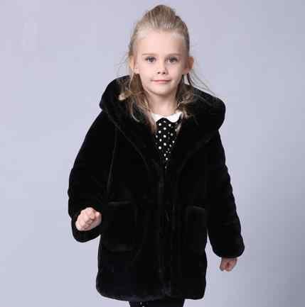 Abrigos Otoño Invierno 2019 chaqueta para niños manteau hiver adolescente rellenos rompevientos niñas manga larga outwears S505