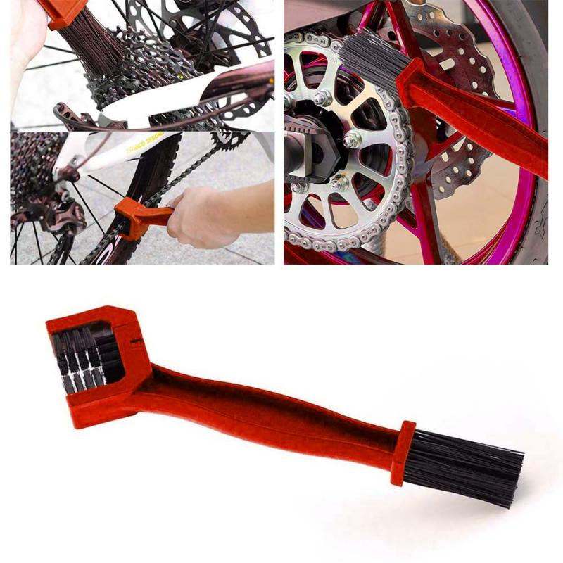 NEW Universal Auto Car Accessories Rim Care Tire Cleaning Motorcycle Bicycle Gear Chain Maintenance Cleaner Dirt Brush Cleaning