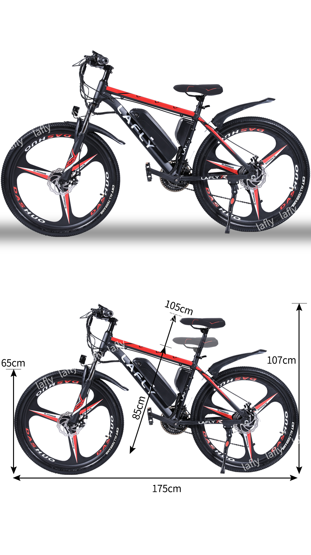 Duty free 26 Inch Electric Bike Electric mountain Bicycle Lithium Battery E-bike 27 speed Aluminum alloy ebike 500WFast delivery 4