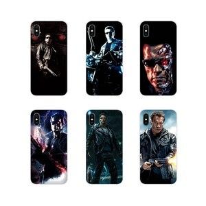 Para Samsung Galaxy J1 J2 J3 J4 J5 J6 J7 J8 Plus 2018 Prime 2015 2016 2017 Fashoin Acessórios Do Telefone Casos de Escudo Filme Terminator