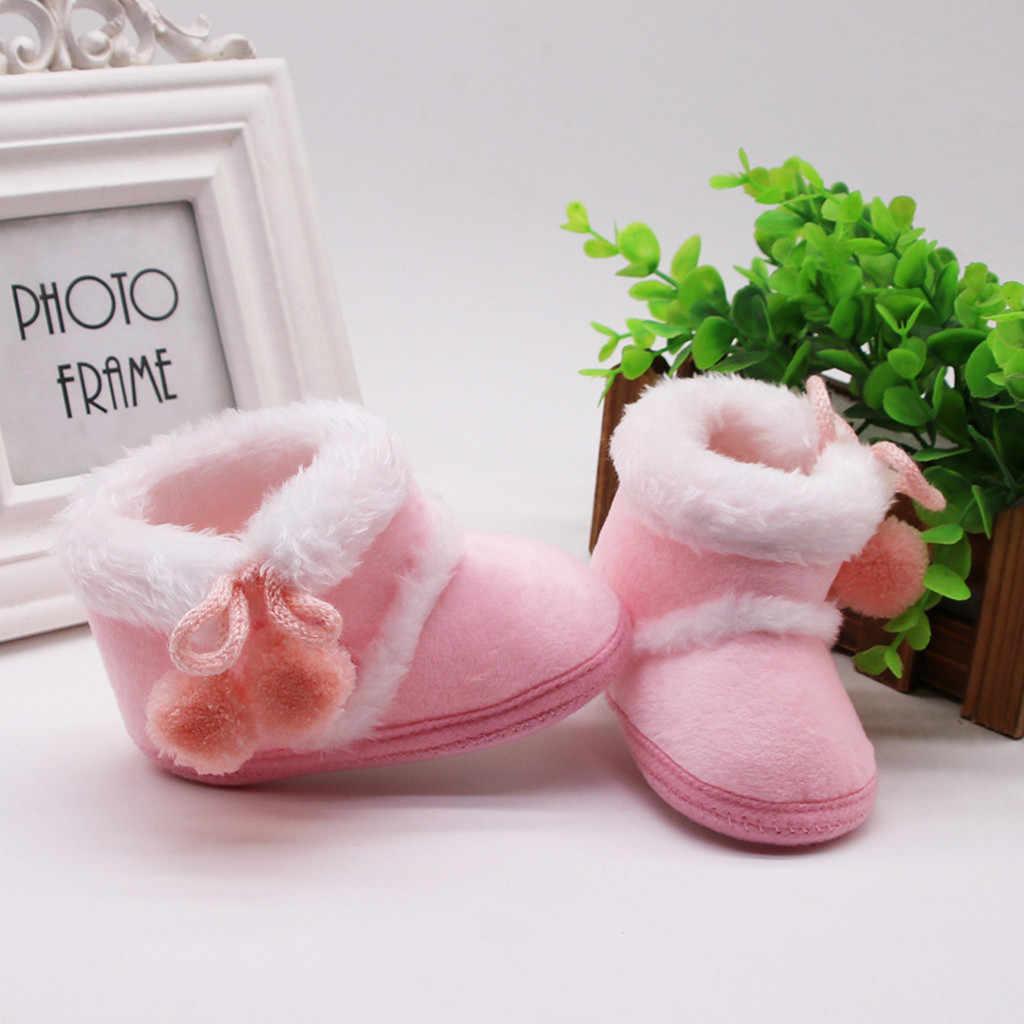 Bebek yenidoğan bebek kız kaşmir peluş kış çizmeler bandaj sıcak ayakkabı çocuk ayakkabı çocuk ayakkabı çocuk ayakkabı bebek ayakkabıları
