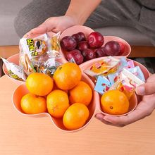 Container Plates Serving-Tray Snacks Wholesale Storage-Box for Nuts Desserts Heart-Shaped