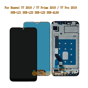 Image 1 - LCD Display Screen For Huawei Y7 2019 / Y7 Prime 2019 / Y7 Pro 2019 DUB LX1 DUB LX2 DUB LX3 AL00 LCD Display Touch Screen Frame
