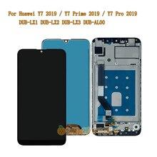 จอแสดงผลLCDสำหรับHuawei Y7 2019 / Y7 Prime 2019 / Y7 Pro 2019 DUB LX1 DUB LX2 DUB LX3 AL00 LCDจอแสดงผลTouch Screen