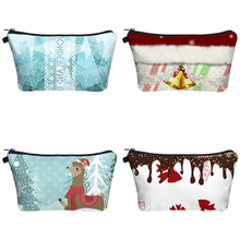 WULI SEVEN New Style Christmas Cosmetic Bag Roomy Makeup Travel Cases Organizer Gift Bags Dropshipping
