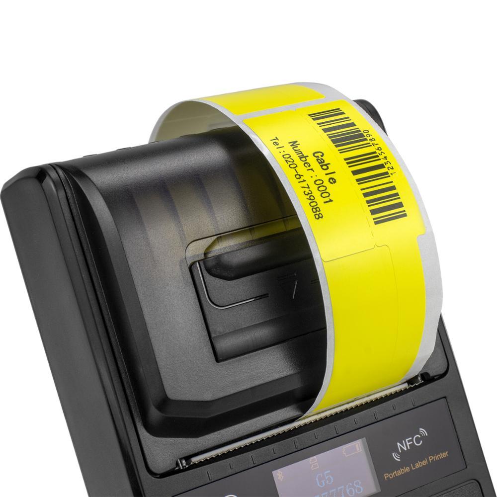 NETUM 58 мм для печати ярлыков Портативный 80 мм Bluetooth Термальность Принтер этикеток с Перезаряжаемые Батарея совместим с iOS и Android