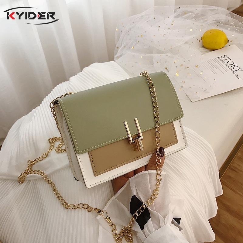 Women Shoulder Bags 2020 Summer New Version Of The Messenger Bag Handbag Chain Over The Shoulder Small Flap Crossbody Bags