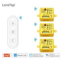 Tuya – commutateur WiFi intelligent Life, module de relais avec télécommande google Home Alexa Echo, bricolage, domotique