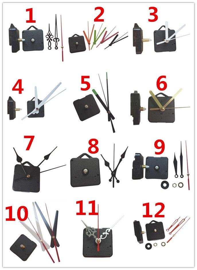 18mm Shaft Hook Hanging Mechanism Classic Hanging Black Quartz Watch Wall Clock Movement Mechanism Parts Repair Accessories