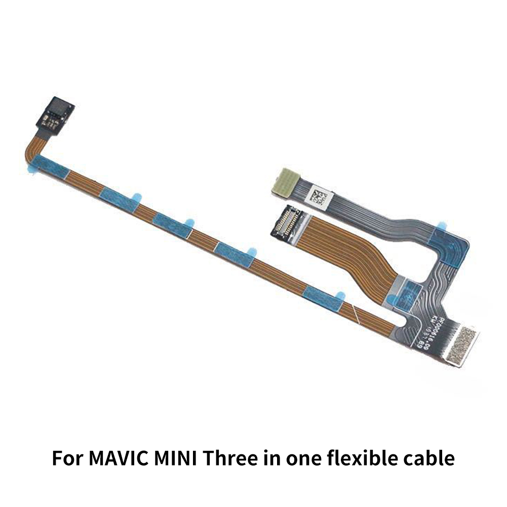 3 In 1 Flexible Flat Cable Ribbon Replacement Part RC Toy Professional Install Drone Gimbal Repair Tool Strip For MAVIC Mini