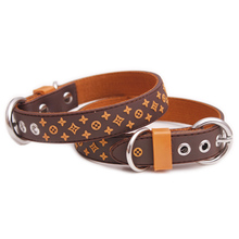 Star Design Pet Dog Collar Leash Rubber Nylon Leather Small Cat Collars Dropshipping High Quality Leads Product