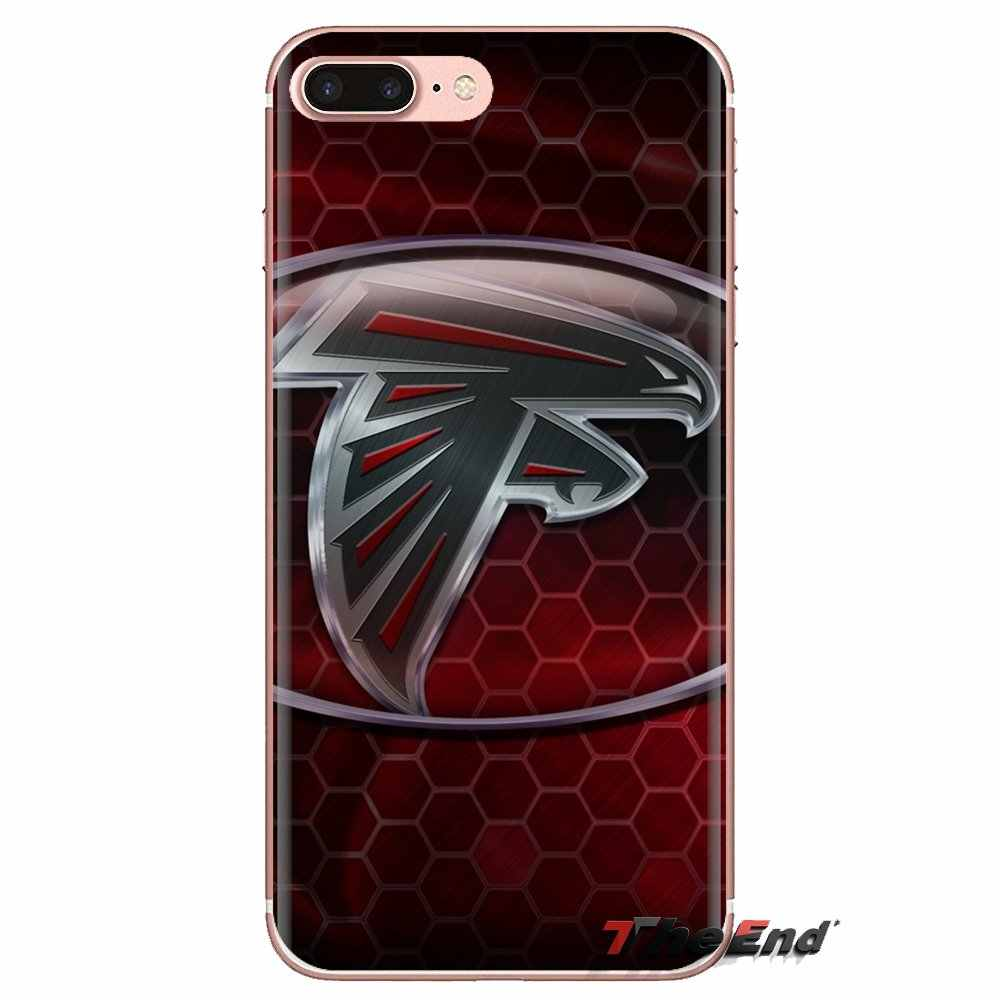 Per Xiao mi mi 6 mi 6 A1 max mi X 2 5X 6X rosso mi NOTA 5 5A 4X 4A A4 4 3 Plus Pro Atlanta Falcons HD Wallpapers 2 Molle di TPU Cassa Del Telefono